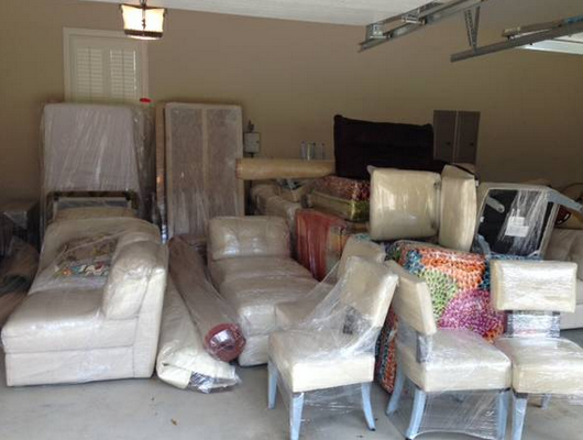 We Can Shrink Wrap Your Belongings For A Cross Country Or International Move