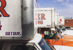 """4 of our trucks are now officially named - Artavis, Tajh, Vic and Deshaun. The 5th truck might be named """"Ray-Ray"""" but both still have to prove themselves."""