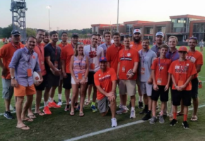 It was an amazing honor to be guests at Clemson